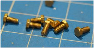 Hex screws M 1.6x4