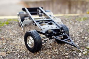 2 axles 1/14 scale trailer for Tamiya and others