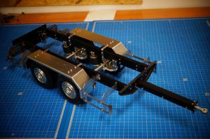 1/14 scale trailer chassis long