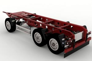 Trailer 3axles v2 for Tamiya and others