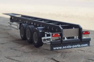 1/14 scale semi-trailer 3 axles