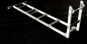Frame for hooklift long