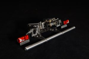 Frame end set FMX with lights, bumper and trailer coupling v2