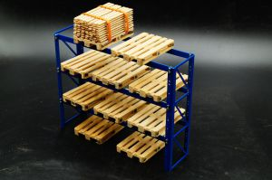 1:14 scale Pallet rack
