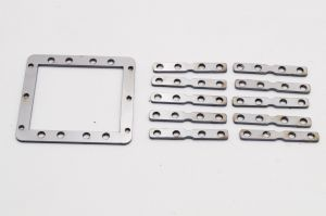 Front steering and gearbox Servo mounting plate