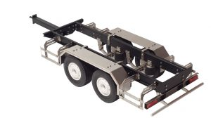 1/14 scale tandem trailer chassis long