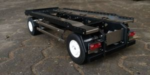 1/14 drawbar trailer for hooklift containers METAL