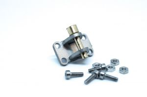1/14 Trailer coupling, rear hook for 1/14 trucks and trailer tamiya INOX