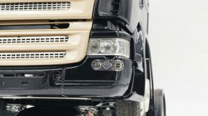 1/14 fog lights cover for scania tamiya stainless steel